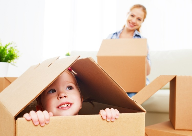 Tips on Moving House with a Toddler